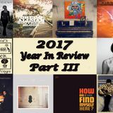 Southern Harmony #54 - 2017 In Review Part III