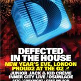 Defected In The House NYE London 'Pre-party mix' Lynda Phoenix