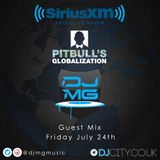 Pitbull SiriusXM #Globalization Guest Mix - DJ MG