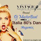Vintage Luxury & Food Present Italia 80's Dance Megamix By Dj MasterBeat(Live 14/04/2016)