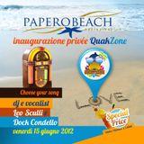 Diretta live Papero Beach - 15 Giugno 2012