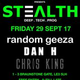 Stealth @ Boxed 29/09/17