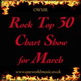 March Rock Chart Show