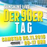 Classics 05.11.2016@ Radio Sunshine Live mit DJ Falk (90er Tag Special)