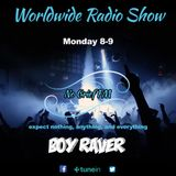 Boy Raver Worldwide Radio Show 12 Dec 2016