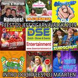 Feest DJ Jeff's Carnavalski 2019