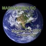 Mariano Moloc - September 'Travelling Around' 2011 Promo Mix