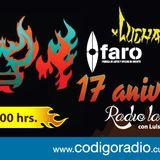 """Radio la Fábrica programa sobre """"Lucharama"""" transmitido el día 30de Marzo 2017 por Código CDMX"""