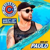 "DJ PAULO - ""CIRCUIT BARCELONA"" SPECIAL PROMO SET (August 2017)"