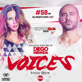 Voices #14 ( Exclusive guest mix by Diego Miranda )