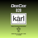karl k-otik B2B DeeCee LIVE at MB pres Mark Sherry @ Circus