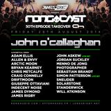 Jordan Suckley- James Rigby Pres. The  Rongcast 50th Episode Takeover on AH.FM 29.08.2014