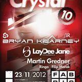 Martin Gredner - live@Crystal with Bryan Kearney Fabric-Ostrava 23-11-2012