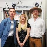 Kate Hutchinson with Al Doyle & Owen Clarke (Hot Chip) // 21-06-19