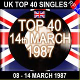 UK TOP 40 08-14 MARCH 1987