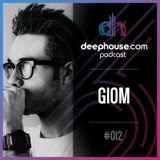 deephouse.com podcast 012 with GIOM