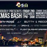 Tony Jay - O.S.A Xmas Bash at The Zombie Shack Manchester 02.12.2016 (Promo Mix)