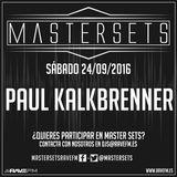 Master Sets Sábado 24/09/2016 - Set 5 Paul Kalkbrenner