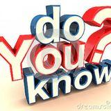 Do you Know - Audio