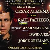 Jorge Orellana - Live @ CarnavalTechno (Navalmoral) 2da hora [01.03.2014]