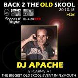 Back 2 the Old-Skool with Shades of Rhythm - DJ Jefferson Vandike aka DJ Apache.