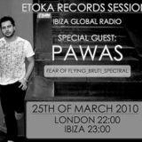 Etoka Sessions on Ibiza Global Radio with Pawas