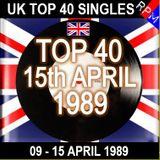 UK TOP 40 09-15 APRIL 1989