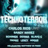 Sandy Warez @ Techno Terror (03-10-2008)