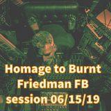 Homage To Burnt Friedman FB Live session 06/15/19