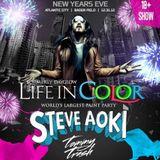 Steve Aoki @ Life in Color NYE Party (Atlantic City) – 31-12-2012