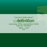 ::definition | Freshers Edition | Promo Mix | September 2014