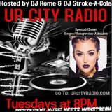 DJ Rome and DJ Stroke-a-Cola Show with Adriiana Interview