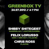 Shibby Shitegeist > Recorded @ Greenbox TV   Hamburg (24.7.2012)