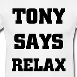 TONY REBEL IS...CHILLING RIGHT OUT