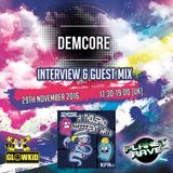 GL0WKiD Generation X [RadioShow] pres. DEMCORE (UK) @ Planet Rave Radio (29NOV.2016)
