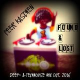 Peer Kaschen - Found & Lost - deep- & techhouse Mix Oktober 2016