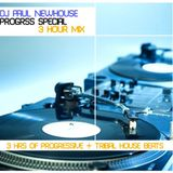 DJ Paul Newhouse presents Progress 01 3hr Vinyl mix 2009