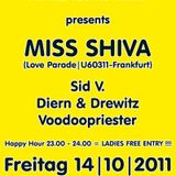 Miss Shiva Live In The Mix@ Voodooculture on Underdock 14.10.2011