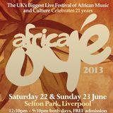 Africa Oye 2013 Mix