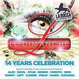 dj Left @ La Rocca - 14Y Le Dimanche 19-04-2014