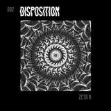 disposition // with zeta k @ Krabbenhöhle April 8th 2016