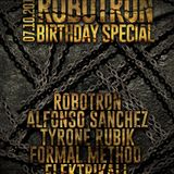 Art Style: Techno | Robotron Birthday Special : ALFONSO SANCHEZ