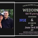 Ben Coleman Live Recording Noz and Lumi's Wedding Rave Zephyr Lounge Vinyl 3-6-17