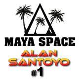 Maya Space Radio Show #1 Alan Santoyo Tribal House Gym Best Music For Workout