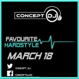 Concept - Favourite Hardstyle March 18 (23-03-2018)