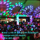 Kori live @ Elizium Sörkert, Szezon Nyitó party, 2016.05.14. (Deep House warm up)