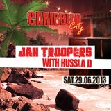 CARIBBEAN CITY JUNE 2013 - Jah Troopers & Solid Ground (from Berlin) PT.1