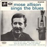 Mose Allison sings the blues 1962 (digitised vinyl)