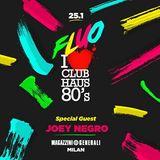Joey Negro @ Club Haus 80's Fluo (at Magazzini Generali), Milan - 25.01.2013