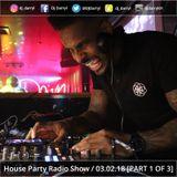"[PART 1 OF 3] DJ Darryl's ""Saturday Night House Party"" Radio Show on WCR 101.8 FM - 03.02.18"